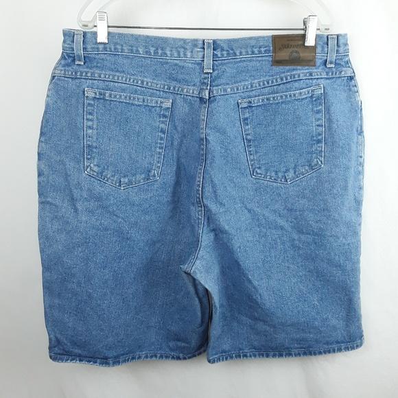 St. John's Bay Pants - SJB Plus Size 5 Pocket Jean Shorts